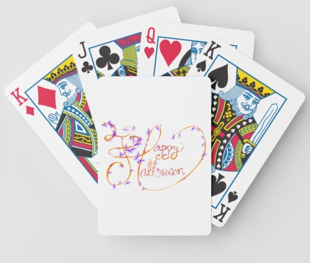 Halloween Costume Playing Cards Halloween Costume Deck Of Cards For