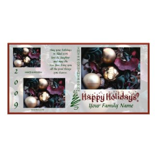 Happy Holidays Photo Card (3) - Use Your Photos