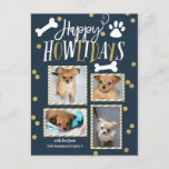 Happy Howlidays Collage | Christmas Photo Postcard