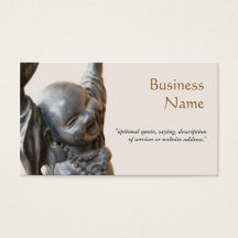 Happy Laughing Buddha New Age Business Card