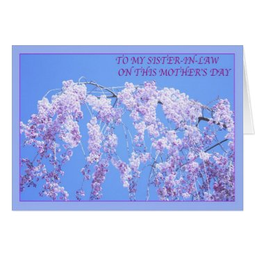 Happy Mother's Day To Sister-in-Law Willow Card
