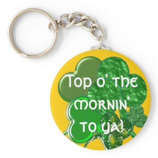 Happy St. Patty's Day - Keychain - Personalize keychain