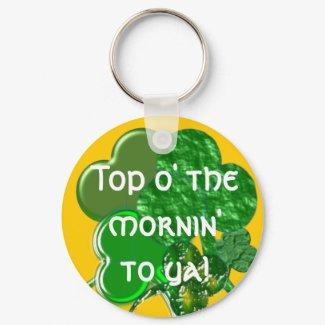 Happy St. Patty's Day - Keychain - Personalize keychain