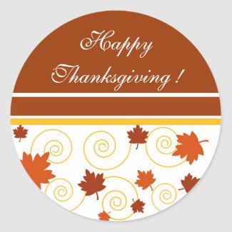 Happy Thanksgiving ! - Sticker sticker