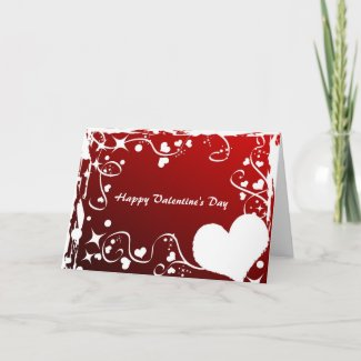 Happy Valentine's Day card card
