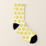 Happy Yellow Sunshine Socks