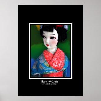 Haru no Onna Poster print