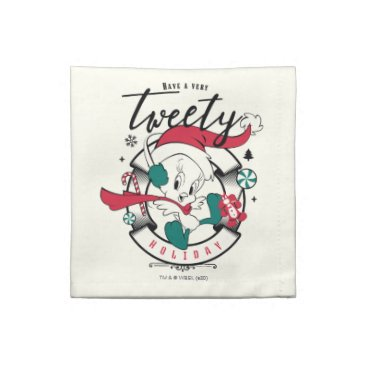 Have A Very TWEETY™ Holiday Cloth Napkin