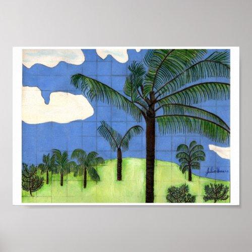 Hawaiian Landscape by Julia Hanna