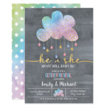 He or She Gender Reveal Invitation