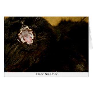 Hear Me Roar!