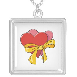 Heart Necklace Can Be Personalized
