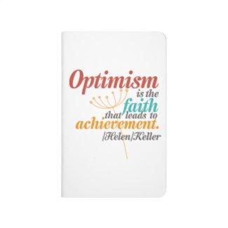 Helen Keller Optimism Quote