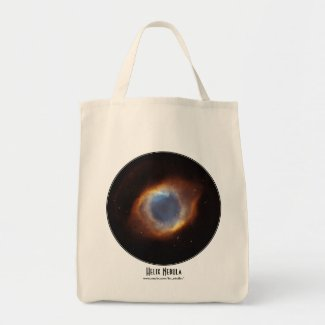 Astronomy themed tote bags, with titles