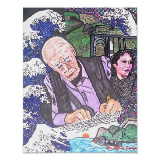 Henry Miller, Anais Nin and Big Sur Posters