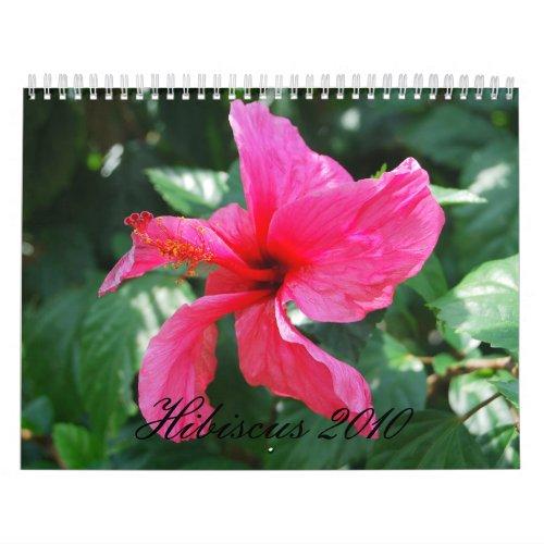 Hibiscus 2010 Calendar calendar