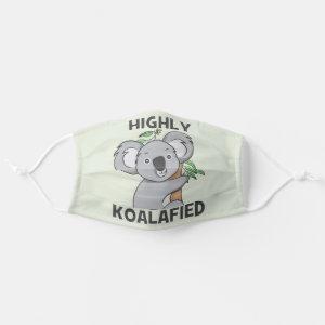 Highly Koalafied Koala Cloth Face Mask