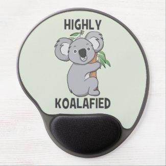 Highly Koalafied Koala Gel Mouse Pad