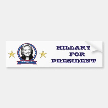 Hillary Clinton 2016 bumper sticker. Bumper Sticker