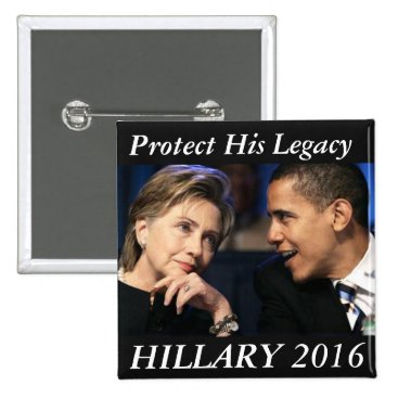 Hillary Clinton 2016 Pinback Button