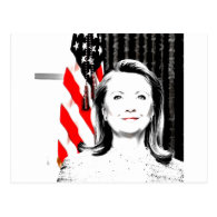 Hillary Clinton 2016 Post Card