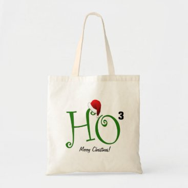 Ho Ho Ho!  Merry Christmas Tote Bag