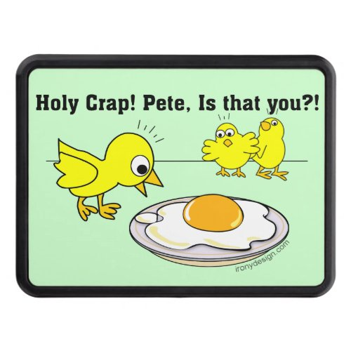 Holy Crap! Pete, is that you? Trailer Hitch Cover