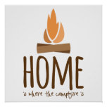 Home Is Where the Campfire Is Poster