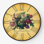Home Sweet Home Vintage Roses on Rustic Style