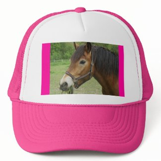 Horse Pink Hat hat