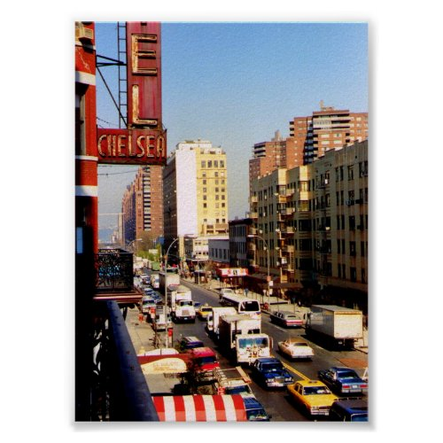 Hotel Chelsea, New York City, Print print