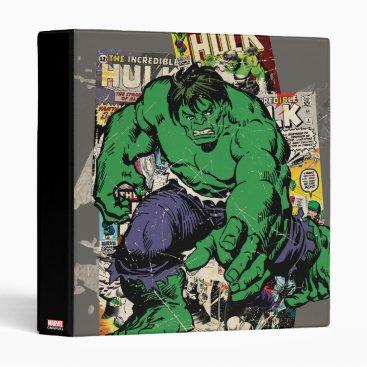 Hulk Retro Comic Graphic Binder