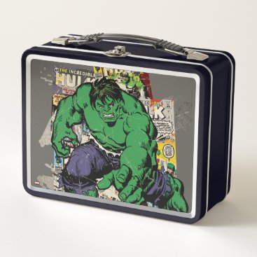 Hulk Retro Comic Graphic Metal Lunch Box