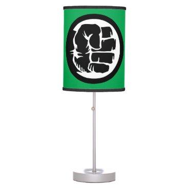 Hulk Retro Fist Icon Table Lamp