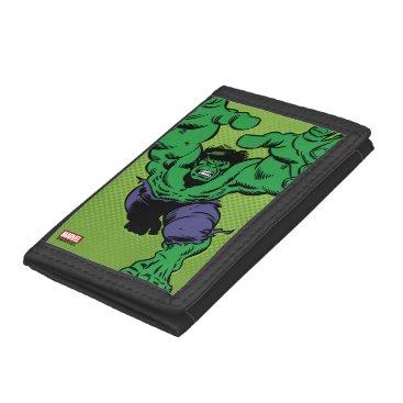 Hulk Retro Grab Trifold Wallet