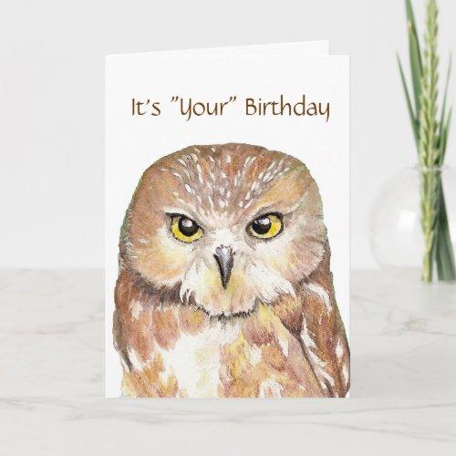 Humor, Cute Owl