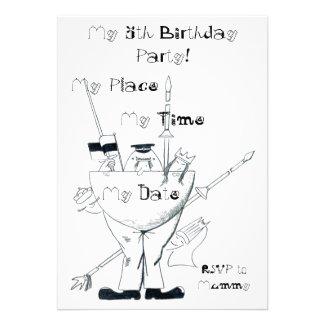 Humpty Dumpty Birthday Party Invitation