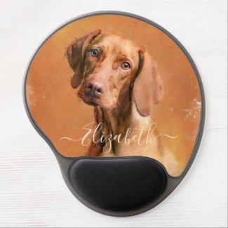 Hungarian Vizsla Dog Gel Mouse Pad