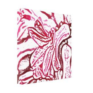 Hyacinth Edited Canvas Print