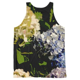 Hydrangeas All-Over Print Tank Top