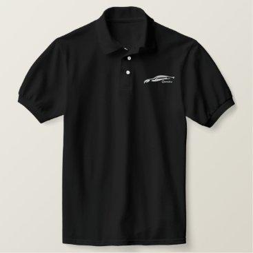Hyundai Genesis Coupe Embroidered Polo Shirt