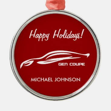 Hyundai Genesis Coupe Metal Ornament