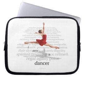 I Am A Dancer Laptop Sleeve
