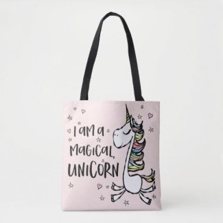 I am a Unicorn Tote Bag