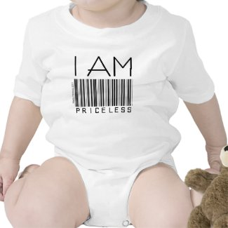"""I am Priceless"" - Barcode - Shirt"