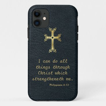 I can do all things through Christ iPhone 11 Case