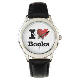 I heart books Swirly Curlique Heart 02 FADE 4000x4 Watch