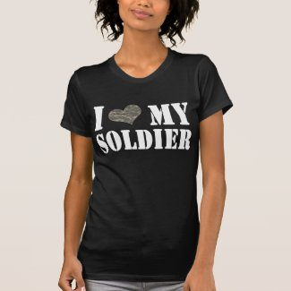 I Heart My Soldier T-shirts