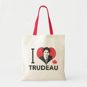 I Heart Trudeau Budget Tote Bag