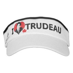 I Heart Trudeau Headsweats Visor